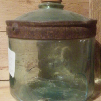 Old Glass Jar
