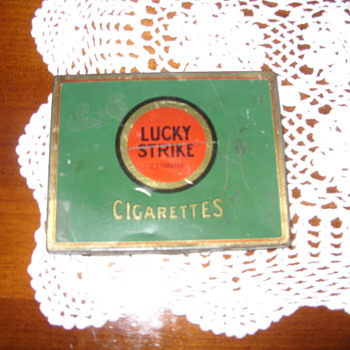 lucky strike tin