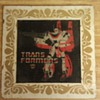 Vintage Glass Transformers Plate