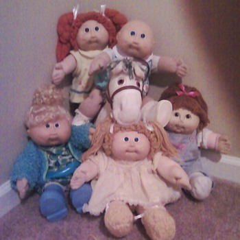 My Cabbage Patch Kid Collection