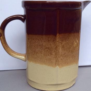Large vintage English jug/ pitcher