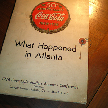 1936/1940 Coca-Cola Bottlers Convention Materials