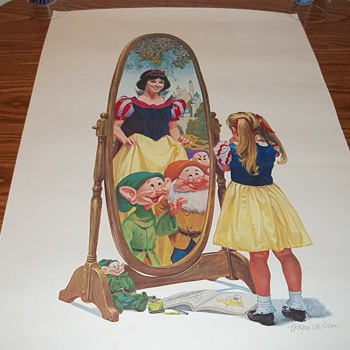 Snow White 50th Anniversary Print