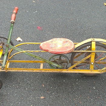 Irish Mail Child's Tricycle - Push/Pull