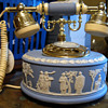 Wedgwood Telephone (Blue Jasperware)