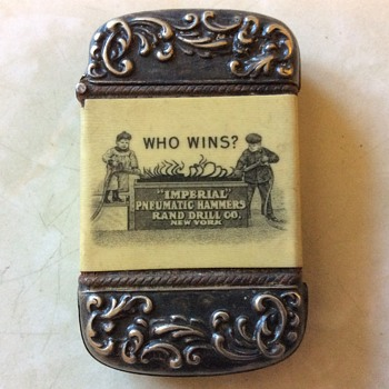 Old Match Case