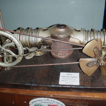 Essex hot air engine