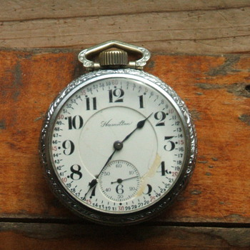 1914 Hamilton Pocketwatch - Pocket Watches