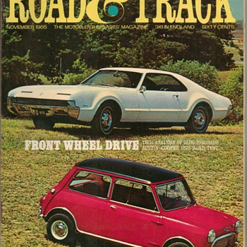 1965-1967 Road &amp; Track Magazines