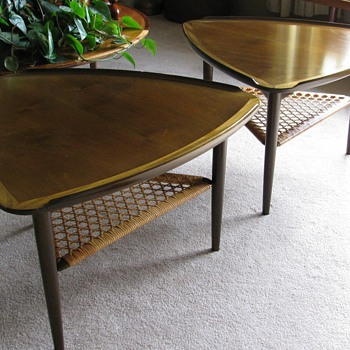 Danish Modern Poul Jensen Occasional Tables for Selig