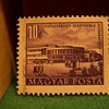Vintage Hungarian 10 Filler Stamp