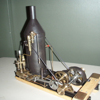 1/8th Scale Model Steam Donkey Engine