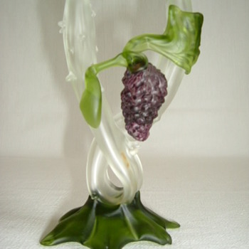 Bohemian Kralik Thorn Vase - Art Glass