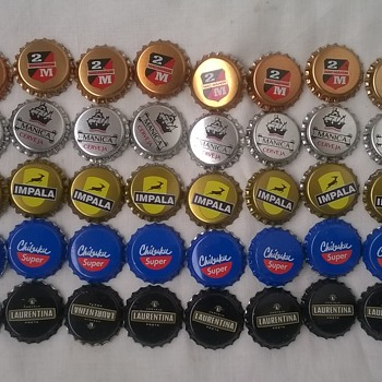 50 Mozambique unused beer caps