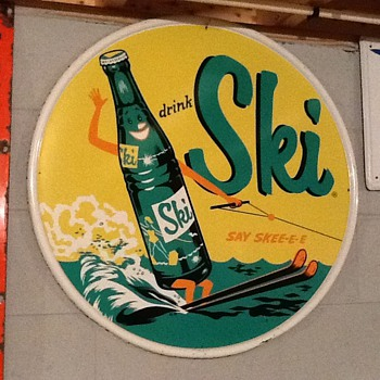 My Ski beverage sign - Signs