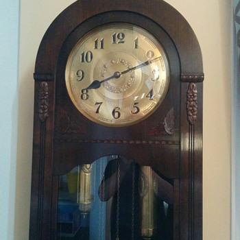 Round Top German Grandfather Clock - Clocks