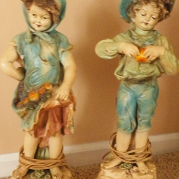 Pair of 64 PIERI Lamps - Lamps