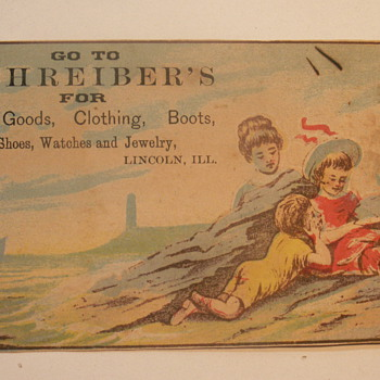 1883 Lottery Ticket - Advertising