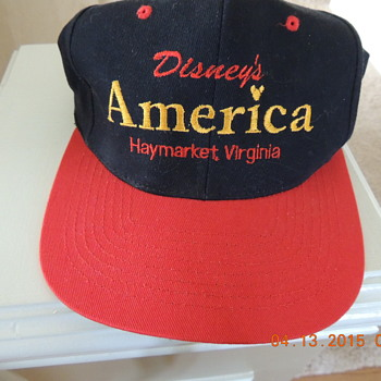 """Disney's America"" hat (the theme park that never happened (1993)"