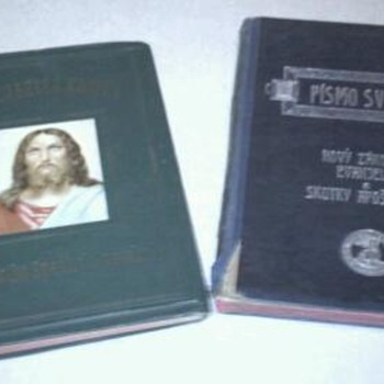 Two, year 1906 & year 1916 Slovak Bibles