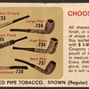 1970 - Amphora Tobacco Briar Pipe Coupon