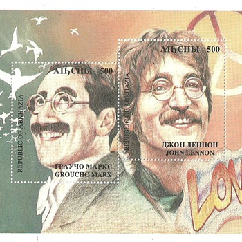 Groucho Marx & John Lennon Stamps - Stamps