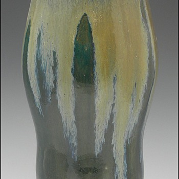 Pre-1904 Auguste Delaherche Glazed Stoneware Art Pottery Vases - Art Pottery