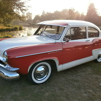 Collectors item another rare Henry J. Kaiser corsair deluxe 1953. - Classic Cars