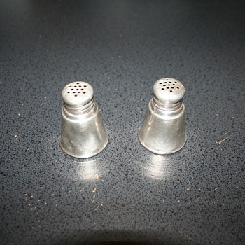 International  Sterling Silver Salt and Pepper Shakers - Sterling Silver