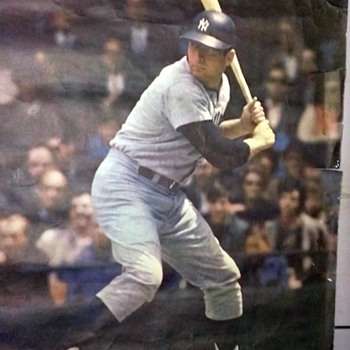 1968 NY Baseball Poster