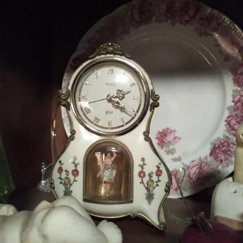 Clock with dancing girl