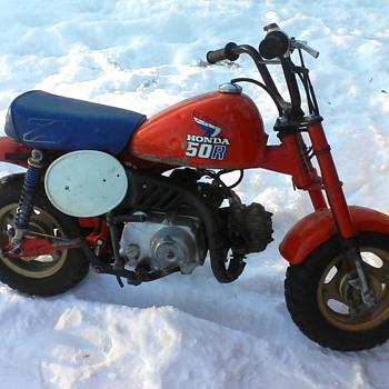 1986 hondza z50r - Motorcycles