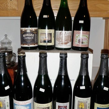 A homebrewer's beer cellar-saved for a special occasion - Breweriana