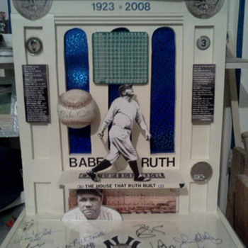 Yankee Stadium/Babe Ruth tribute