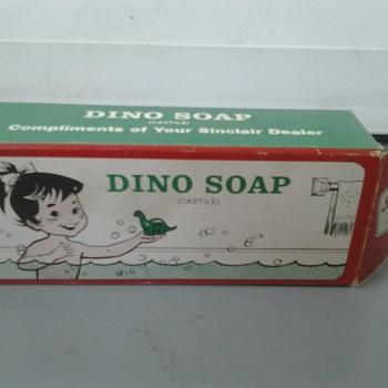 Sinclair Dino Soap - Petroliana