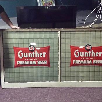 Gunthers Baltimore MD - Breweriana