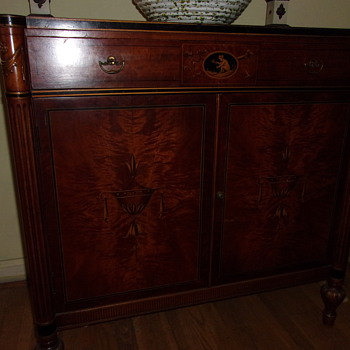 Cabinet from 1920s - Furniture