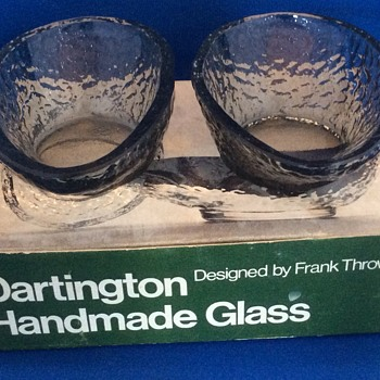 Darlington avocado dishes  - Glassware