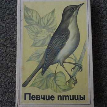 Soviet Union box of matchboxes.