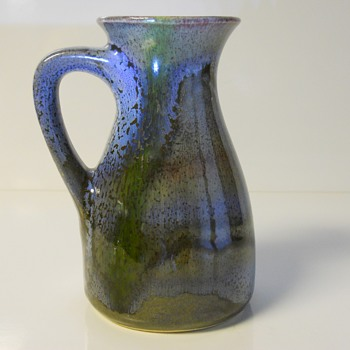 "Western Germany Pitcher Vase""BAY Keramik""1960-70 - Art Pottery"
