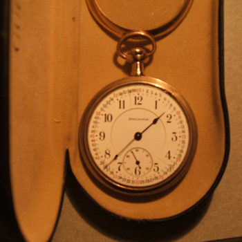 "1915 Illinois ""Burlington"" Pocket watch - Pocket Watches"