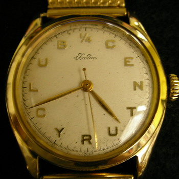 1953 Eaton - 1/4 CENTURY CLUB wristwatch