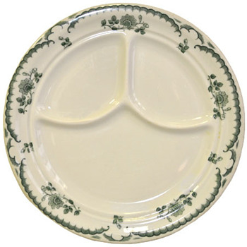 A gorgeous divided dinner plate