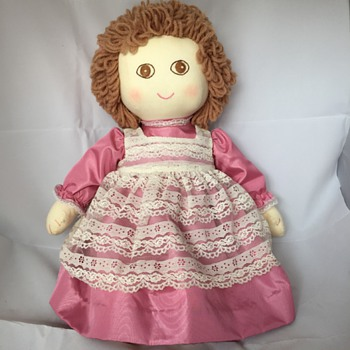 Hand Made Prayer Doll?