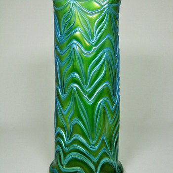 Beautiful Loetz Crete Formosa Vase ca. 1902 - Art Glass