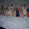 Vintage clay puppets