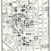 Circa 50s Era Map of Downtown  Buffalo, NY