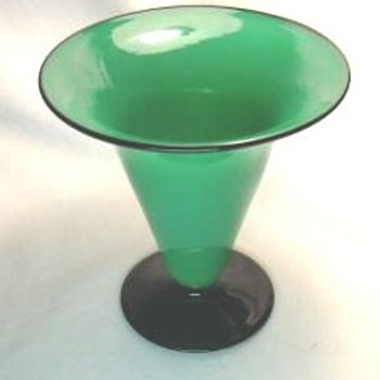 Mystery vase - Art Glass