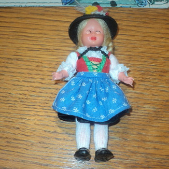 "Wilten German Doll 5 1/2 ""  - Dolls"