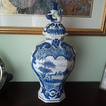 Thrift Store Find Ducth Delft - Art Pottery